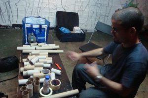 Rodrigo Viterbo  Workshop De Construção De Didjeridoos E Concerto